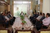دیدار شورای شهر و شهردار با امام جمعه