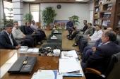 دیدار شورای شهر و شهردار با مجموعه فرمانداری