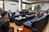دیدار با معاون استاندار و فرماندار ویژه شهرستان نجف آباد