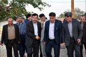 همراه با معاون استاندار و پارلمان شهری در بازدید عمرانی