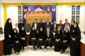 کمیسیون فرهنگی شورای اسلامی شهر نجف آباد میزبان اعضای شورای دانش آموزی