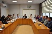 جلسه انجمن کتابخانه های عمومی شهرستان نجف آباد