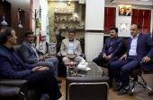 جلسه با ریاست اداره راه، مسکن و شهرسازی شهرستان نجف آباد