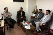 جلسه با مدیر کل دفتر فنی و برنامه ریزی وزارت کشور