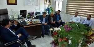 دیدار با مدیریت شبکه بهداشت و درمان شهرستان نجف آباد