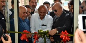 آیین افتتاح مرکز تخصصی پزشکی قمر بنی هاشم نجف آباد