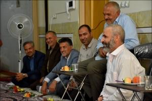 دیدار با پدر گرامی شهید حججی