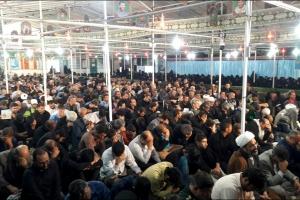 مراسم پرفیض دعای ندبه و سالگرد تشییع و  تدفین شهید حججی