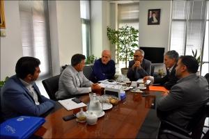 دیدار و جلسه  با معاون وزیر راه و شهرسازی
