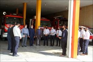شورای شهر و گرامیداشت روز آتش نشانی و ایمنی