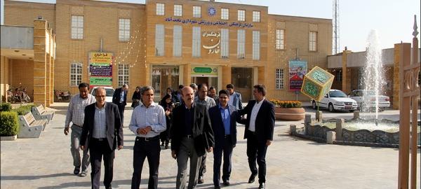 در مسیر افتتاح گذر فرهنگ و هنر نجف آباد