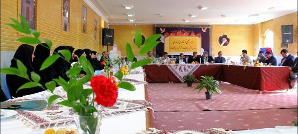 مراسم تجلیل از کتابدارن کتابخانه های سازمان فرهنگی، اجتماعی و ورزشی شهرداری نجف آباد