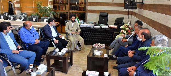 دیـدار با ریاست دادگستری و دادستان نجف آباد